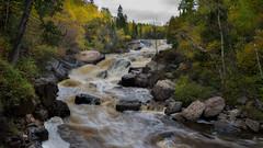 Beaver Falls (Paul Domsten) Tags: minnesota beaverriverfalls water lakesuperior fall autumn pentax
