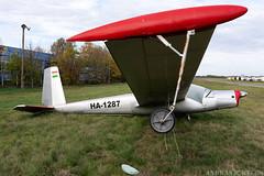 HA-1287 (Andras Regos) Tags: aviation aircraft plane fly airport lhny nyíregyháza glider let l13 l13se l13vivat vivat spotter spotting
