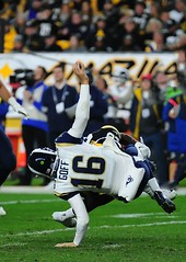 Goff Sack (Brook-Ward) Tags: nfl national football league jared goff mike hilton heinzfield sack sports competition 16 pittsburgh steelers la losangeles rams