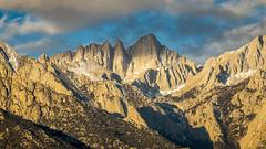 King (Bob Bowman Photography) Tags: mountain mtwhitney sierra highsierra sierranevada easternsierra light sunrise clouds sky landscape alpine california scenery scenic inyo