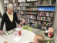 "Celebrating Birthday at the Library with Grandma and Grandpa Morton • <a style=""font-size:0.8em;"" href=""http://www.flickr.com/photos/109120354@N07/49051935398/"" target=""_blank"">View on Flickr</a>"