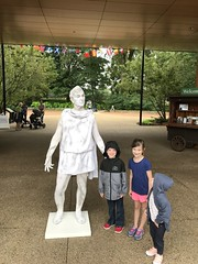 "Dani, Paul, and Inde Pose with a Living Statue • <a style=""font-size:0.8em;"" href=""http://www.flickr.com/photos/109120354@N07/49051948458/"" target=""_blank"">View on Flickr</a>"