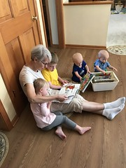 "Grandma Morton Reads to the Kids • <a style=""font-size:0.8em;"" href=""http://www.flickr.com/photos/109120354@N07/49052001188/"" target=""_blank"">View on Flickr</a>"