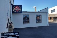 Parking Lot Entrance (Brickmania GHQ) Tags: thorp building northeast minneapolis
