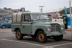 A 2.3 Litre Petrol land rover from 1984 (carsbusestrainsandtrucks) Tags: car land rover petrol 1984 fuel cars