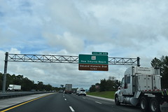 DeLand, FL- I-4 (jerseyman65) Tags: florida routes roads freeways interstates centralflorida sunshinestate centralfl flstateroads flroutes flroads flhighways signs highways fl exits interchanges gantries expressways overheadsigns guidesigns overheadgantries flstateroutes