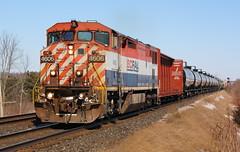 Solo BCOL (Joseph Bishop) Tags: bcol 4606 ge c408m trains train track tracks powerlineroad railfan railroad railway rail rails rlhh cndundassubdivision