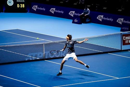 Defending Champion Alexander Zverev Beats Rafael Nadal at the Nitto ATP Tour Finals 2019