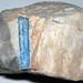 Aquamarine in pegmatitic granite 1