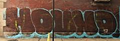 Graffiti. Lower Manhattan . HOUND. (Allan Ludwig) Tags: graffiti lowermanhattan hound