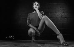 Lexi_08_bw (Artbalbo) Tags: art sensual beautiful awesome women woman sexy portrait modeling water darkbackground see lingerie ropainterior maya studio flash athletic atletica boudoir azul blue lowkey dramatic dramaticlight purple bed mirror magenta purpura model sombrilla noir blancoynegro blanco negro blanctnoir blancetnoir brick ladrillo