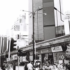 Street (bdrc) Tags: agfa isolette agnar 85mm f45 prime manual vintage relic classic 6x6 squareformat mediumformat mf jch streetpan 400 blackandwhite monochrome black white malaysianphotographer asdgraphy malaysia foldingcamera street candid stranger random kl bukitbintang analog analogue