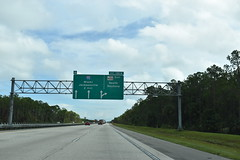 Volusia County, FL- I-4 (jerseyman65) Tags: florida freeways roads routes flroutes flroads flstateroads centralfl centralflorida sunshinestate flhighways fl flstateroutes signs highways guidesigns expressways exits interstates interchanges overheadsigns overheadgantries gantries interstateends