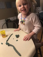 """Dani Plays with Play Doh • <a style=""""font-size:0.8em;"""" href=""""http://www.flickr.com/photos/109120354@N07/49052440391/"""" target=""""_blank"""">View on Flickr</a>"""