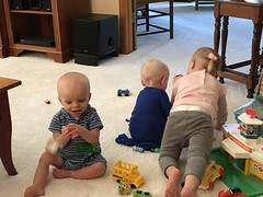 """Dani, Luc, and Sam Play at Grandma and Grandpa Morton's • <a style=""""font-size:0.8em;"""" href=""""http://www.flickr.com/photos/109120354@N07/49052466081/"""" target=""""_blank"""">View on Flickr</a>"""