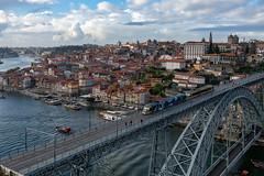 86908-Porto (xiquinhosilva) Tags: 2018 bridge douro flickrsync:perm=public foz historic historiccentre luizi luísi ponte porto portugal ribeira river unescoworldheritage vilanovadegaia