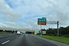 Cassadaga, FL- I-4 (jerseyman65) Tags: florida freeways roads routes interstates overheadsigns overheadgantries gantries guidesigns signs flroads flroutes flhighways highways expressways exits