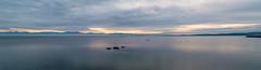 DSCF4787-Pano (FNshutter) Tags: fujifilmx100f x100f ocean west coast bc vancouverisland dusk water clouds panorama