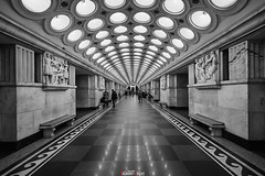 """Station """"Electrozavodskaya"""" of the Moscow metro (zaxarou77) Tags: station electrozavodskaya moscow metro subway monochrome bw black white blackwhite architecture russia underground city transport sony ilce a7 a7m2 a7mii a7markii carl zeiss carlzeiss 1635 1635mm fe sel fe1635f4za sonyclub ilce7m2 variotessar t mm f4 za oss sel1635z"""