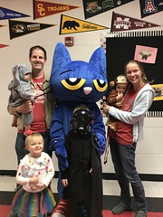 "Family with Pete the Cat at Spooky Reading Night • <a style=""font-size:0.8em;"" href=""http://www.flickr.com/photos/109120354@N07/49052643952/"" target=""_blank"">View on Flickr</a>"