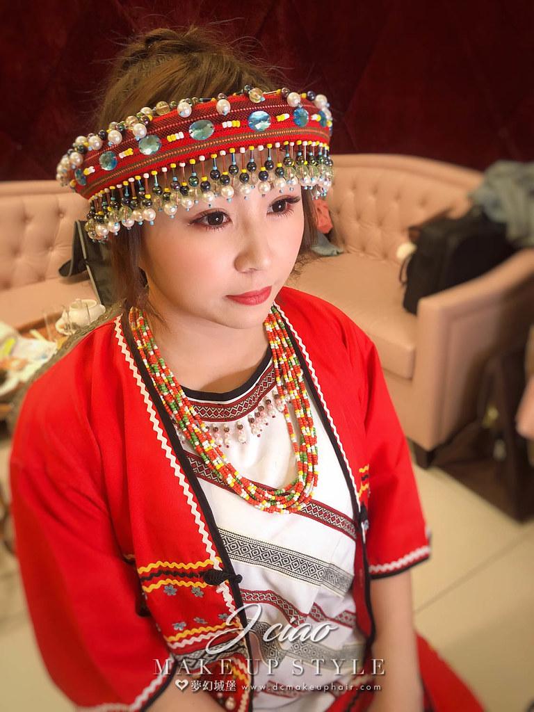 【新秘婕喬】bride海玲 歸寧造型 / 原住民造型,仙女造型