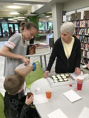 "Celebrating Birthday at the Library with Grandma and Grandpa Morton • <a style=""font-size:0.8em;"" href=""http://www.flickr.com/photos/109120354@N07/49052660087/"" target=""_blank"">View on Flickr</a>"
