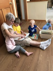 "Grandma Morton Reads to the Kids • <a style=""font-size:0.8em;"" href=""http://www.flickr.com/photos/109120354@N07/49052678652/"" target=""_blank"">View on Flickr</a>"