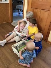 "Grandma Morton Reads to the Kids • <a style=""font-size:0.8em;"" href=""http://www.flickr.com/photos/109120354@N07/49052679237/"" target=""_blank"">View on Flickr</a>"