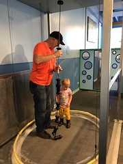 """Grandpa Miller with Dani at DuPage Children's Museum • <a style=""""font-size:0.8em;"""" href=""""http://www.flickr.com/photos/109120354@N07/49052704762/"""" target=""""_blank"""">View on Flickr</a>"""