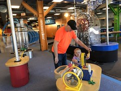 """Grandpa Miller with Dani at DuPage Children's Museum • <a style=""""font-size:0.8em;"""" href=""""http://www.flickr.com/photos/109120354@N07/49052705277/"""" target=""""_blank"""">View on Flickr</a>"""