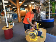 """Grandpa Miller with Dani at DuPage Children's Museum • <a style=""""font-size:0.8em;"""" href=""""http://www.flickr.com/photos/109120354@N07/49052705462/"""" target=""""_blank"""">View on Flickr</a>"""