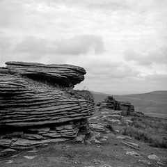 Watern Tor (ronet) Tags: hasselblad500cm waterntor bw blackwhite dartmoor diydeveloped film hasselblad homedeveloped ilforddelta100 mediumformat scanned