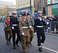 Remembrance Parade, Newcastle upon Tyne   IMG_0567 (alisonhalliday) Tags: parade march soldiers sailors newcastleupontyne canoneosrp canonefs18135mm people