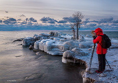 Photographing the 2019 polar vortex over Lake Ontario - Toronto (Phil Marion (177 million views - THANKS)) Tags: sunrise sunset dusk fun shadows hdr snow art model feet canon5diii 5d3 canon toronto canada candid architecture street portrait landscape wildlife nature explored bird urban flowers macro insect sony nikon longexposure ontario phil marion philmarion philippemarion explore skyline cityscape home sky water outside beach dog old young indoors travel night smiling