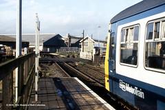 20/01/1988 - New Holland, North Lincolnshire. (53A Models) Tags: britishrail metropolitancammell class101 dmu diesel passenger newholland northlinconshire train railway locomotive railroad