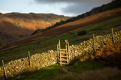 Up and over (tonguedevil) Tags: landscape view outdoor outside countryside autumn nature fields hills mountains cumbria lakedistrict greatlangdale colour light shadows sunlight