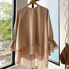 Sifa Top Cream,available at www.eclemix.com (eclemix) Tags: hijab fashion ootd localbrandindonesia localbrand eclemix bandung