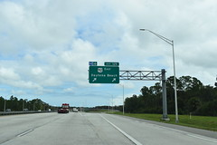 Volusia County, FL- I-4 (jerseyman65) Tags: florida freeways roads routes interstates ushighways usroutes flroutes flroads flstateroads centralfl centralflorida expressways exits interchanges signs guidesigns sunshinestate fl flhighways flstateroutes gantries overheadsigns overheadgantries highways