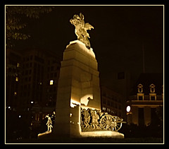 Canada Remembers - Nov. 11, 2019 (bigbrowneyez) Tags: remembranceday canada tribute dedication heartfelt memories soldiers nationalwarmemorial canadaremembers night notte luce light war fighting canon nov112019 striking amazing celebration stunning glowing ottawacanada