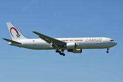 CN-ROW Boeing B767-343(ERF) EBBR 13-05-19 (MarkP51) Tags: cnrow boeing b767343erf b767 royalairmaroccargo at ram brussels zavatem airport bru ebbr belgium airliner aircraft airplane plane image markp51 nikon d7200 nikon70200f4vr sunshine sunny cargo freighter