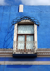 Que du bleu ! (point-aveugle) Tags: puebla