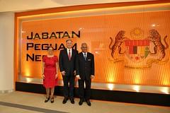 TIP Ambassador John Richmond meets with A/G Tommy Thomas (United States Embassy Kuala Lumpur) Tags: tip john with thomas richmond tommy ag ambassador meets