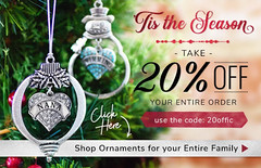 Shop Ornaments for your Entire Family and Get 20% Off (inspiredchristmas) Tags: ornaments christmasornaments holidayornaments familyornament familychristmastreeornaments