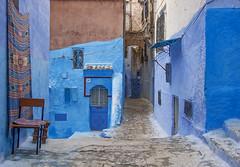 Street in Chefchaouen (JLM62380) Tags: afrique africa chefchaouen morocco town ville bleu blue door porte painting peinture rue street