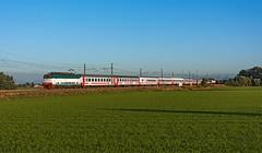 FS 444R 096 (maurizio messa) Tags: e444r e444 ic intercity ic1538 lombardia pavese treni trains railway railroad mau bahn ferrovia nikond7100 tartaruga icsun sun
