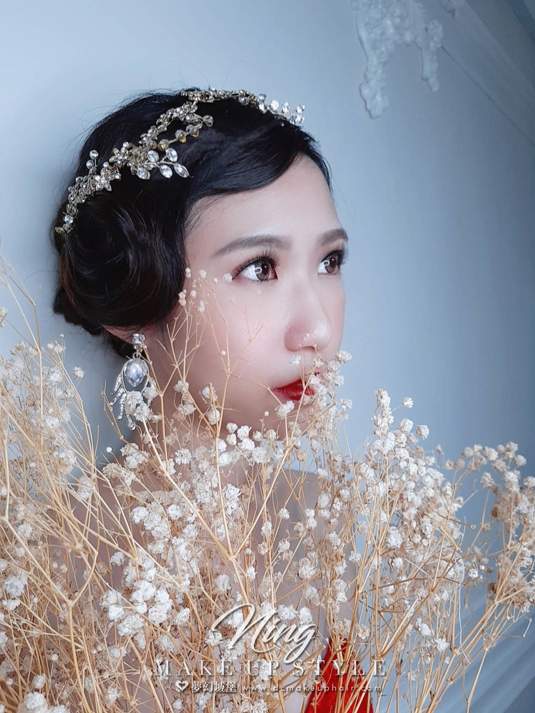 【新秘羽寧】新娘造型創作 / 歐風指推造型