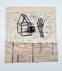 little gesture II (Ines Seidel) Tags: print hand gesture bookpage simplicity forsale druck papier