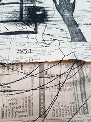 detail (Ines Seidel) Tags: print hand gesture bookpage simplicity forsale druck papier