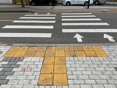 Pedstrian must cross on the right hand side (Panda Mery) Tags: bangbaedong korea pedestrian seoul street