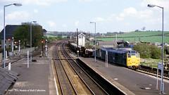 07/05/1986 - Barnetby, North Lincolnshire. (53A Models) Tags: britishrail brush type2 class31 diesel freight barnetby northlincolnshire train railway locomotive railroad